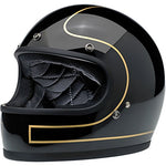 Biltwell: Gringo Le Tracker - (Gloss Black/Gold, X-Large)