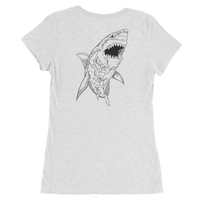 """Shark Fin Soup"" Women's Tee-Denizen Apparel"