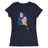 """Tall Ship"" Women's Tee-Denizen Apparel"