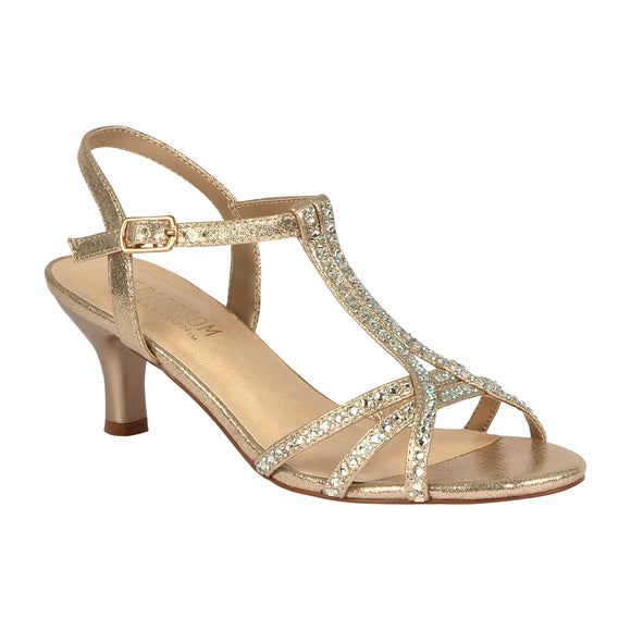 BERK-213 Women's Low Heeled Sandal