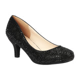 BERTHA-22 Women's Wholesale Low Heel Closed Toe Pump