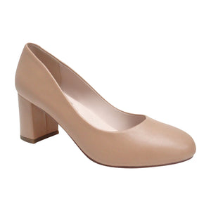 BETTY-11 PU Low Block Heel
