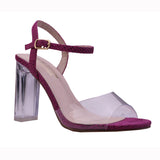 GINO-3 Lucite Strapped Sandals