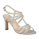 JANET-16 Women's Wholesale Mid Heel with Rhinestones