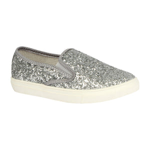 K-ASUKA-1 Kids Glitter Slip-On Sneaker