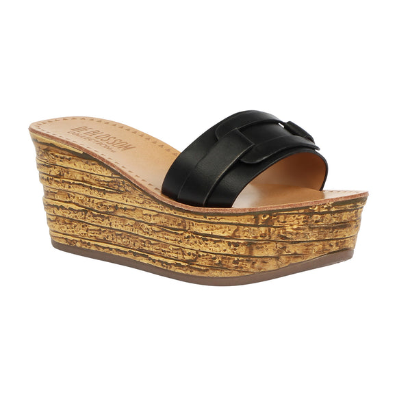 KLOSS-1 Stacked Wooden Platform Sandal