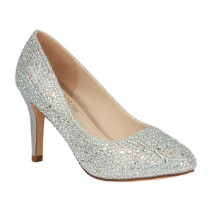 LUCY-14 Women's Wholesale Sparkle Closed Toe Pump