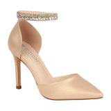 RENZO-65 Women's Wholesale Pointed Toe Pump with Rhinestones