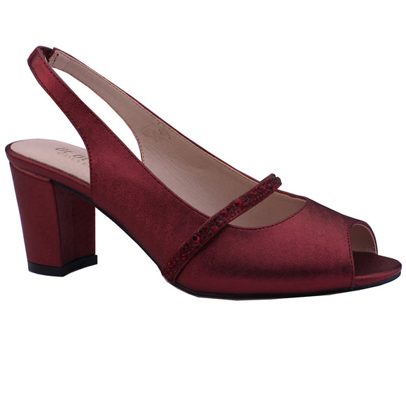 ROSY-12 Slingback Low Block Heel