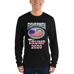 Long sleeve t-shirt  Fisherman for TRUMP 2020