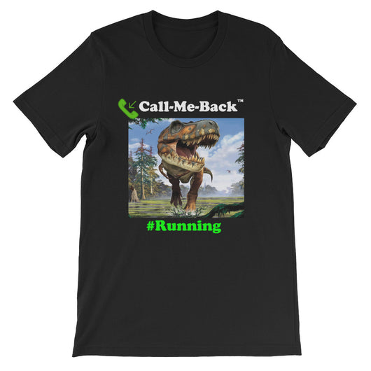 Unisex short sleeve t-shirt #Running 2