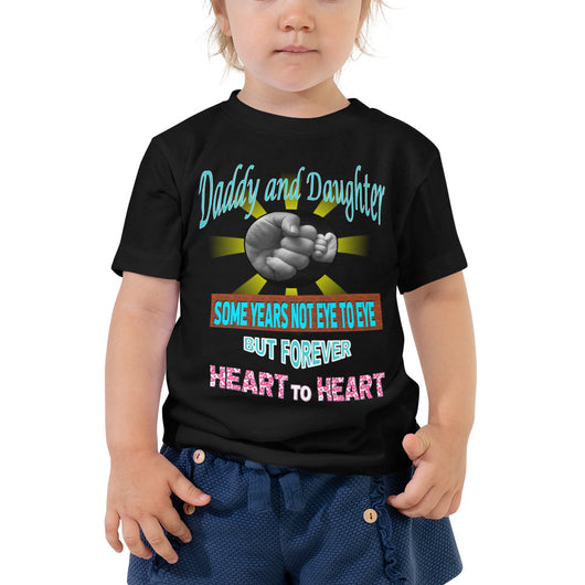 Toddler Short Sleeve Tee  Daddy and Daughter