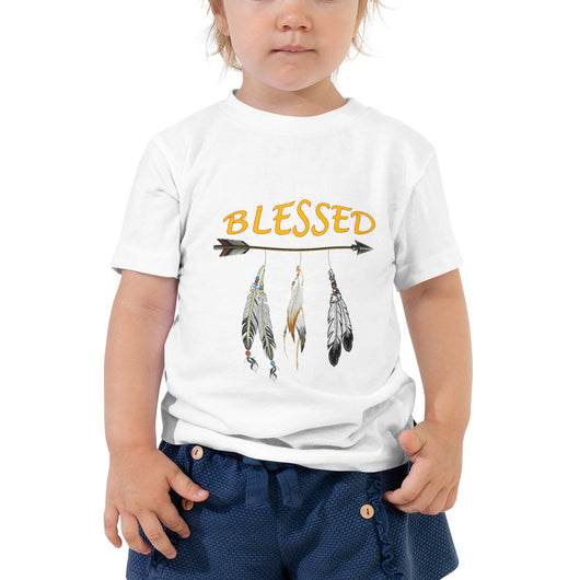 Toddler Short Sleeve Tee  Blessed