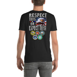 Short-Sleeve Softstyle T-Shirt  RESPECT this of Expect this