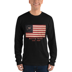 Long sleeve t-shirt Betsy Ross Flag