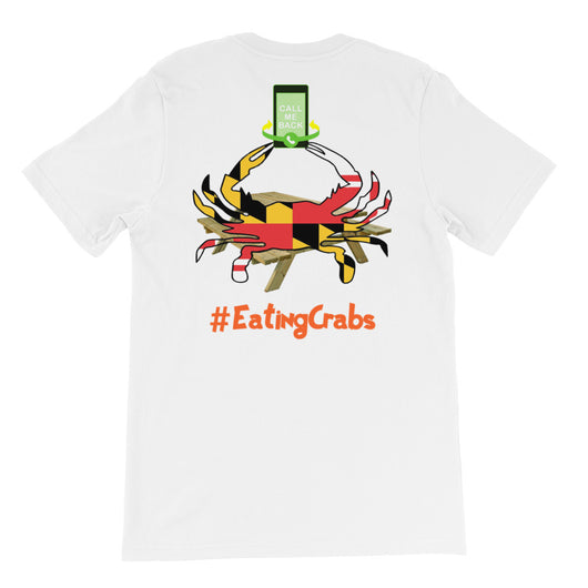 Unisex short sleeve t-shirt EatingCrabs 3
