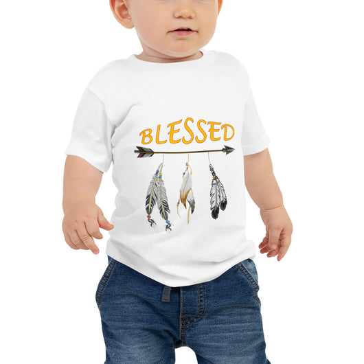 Baby Jersey Short Sleeve Tee  Blessed