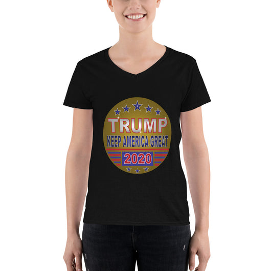 Women's Casual V-Neck Shirt TRUMP KAG 2020