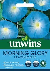 Unwins Morning Glory Heavenly Blue