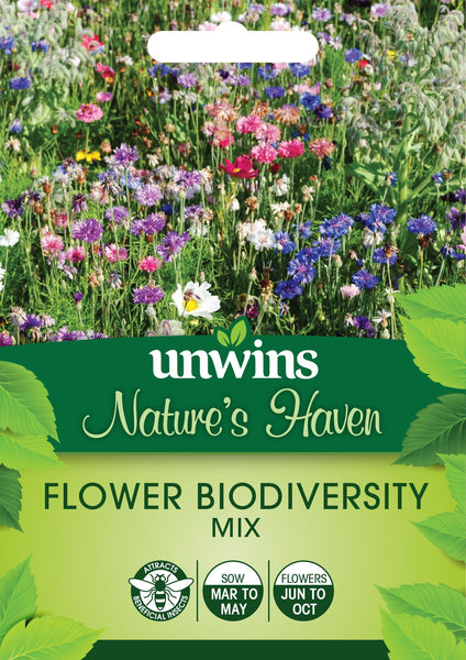 Unwins NH Flower Biodiversity Mix