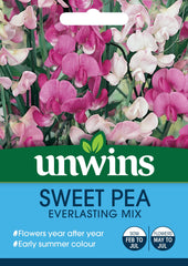Unwins Sweet Pea Everlasting Mix