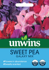 Unwins Sweet Pea Galaxy Mixed