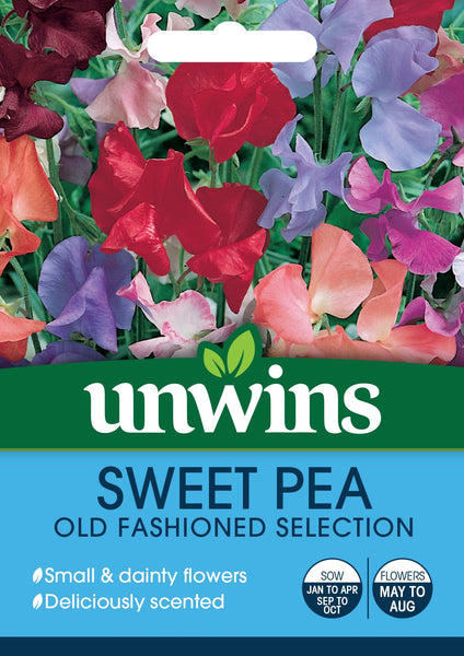 Unwins Sweet Pea Old Fashioned Mix
