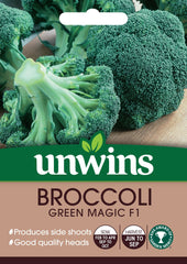 Unwins Broccoli (Calabrese) Green Magic F1