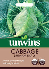 Unwins Cabbage (Pointed) Durham Early