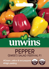 Unwins Pepper (Sweet) Salad Festival F1