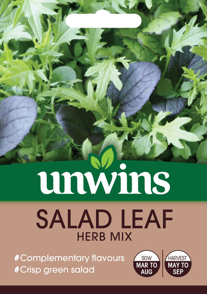 Unwins Salad Leaf Herb Mix