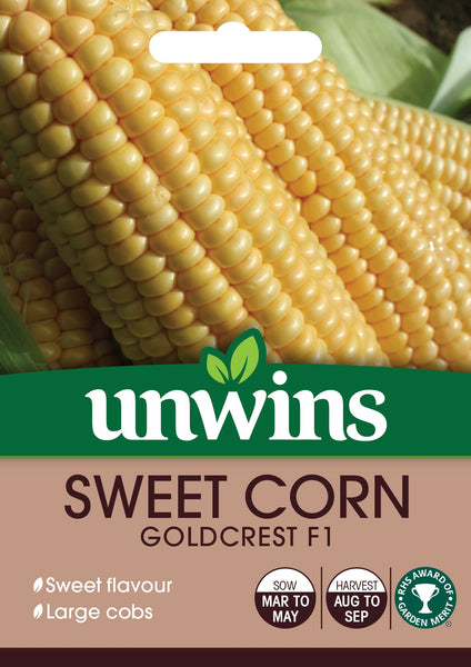 Unwins Sweet Corn Goldcrest F1