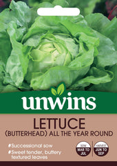 Unwins Lettuce (Butterhead) All The Year Round