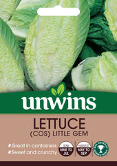 Unwins Lettuce (Cos) Little Gem