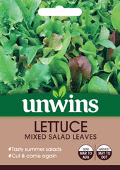 Unwins Lettuce (Leaves) Mixed Salad Leaves