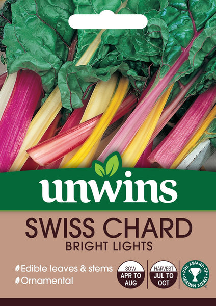 Unwins Swiss Chard Bright Lights