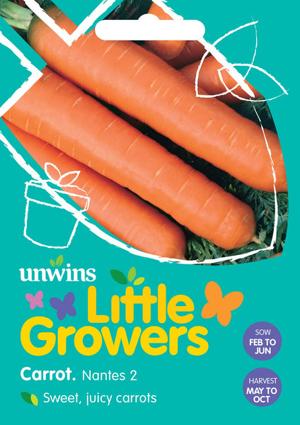 Unwins Little Growers Carrot Nantes 2