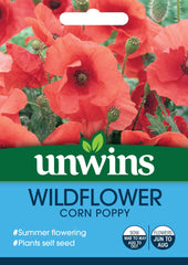 Unwins Wildflower Corn Poppy