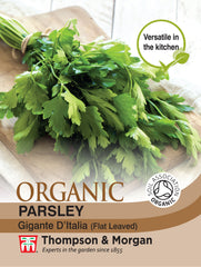 Herb Parsley Flat Leaved (Organic)