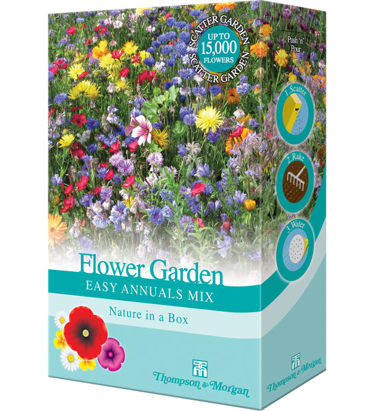 Flower Garden Easy Annuals Mix