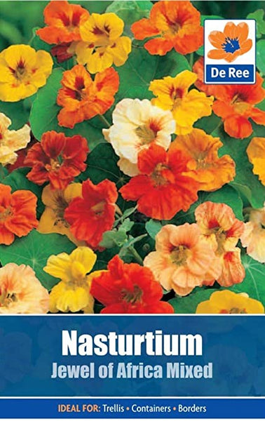 Nasturtium Jewel of Africa Mixed