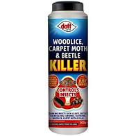 Doff woodlice,carpet moth & beetle killer