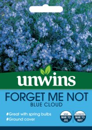 Forget Me Not Blue Cloud