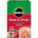 Miracle Gro Rose & Shrub plant food