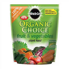 Miracle Gro Organic Choice