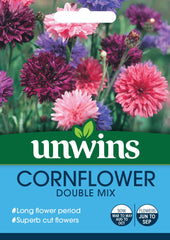 Unwins Cornflower Double Mix