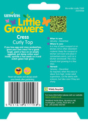 Unwins Little Growers Cress Curly Top