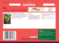Unwins Pea (Early) Early Onward