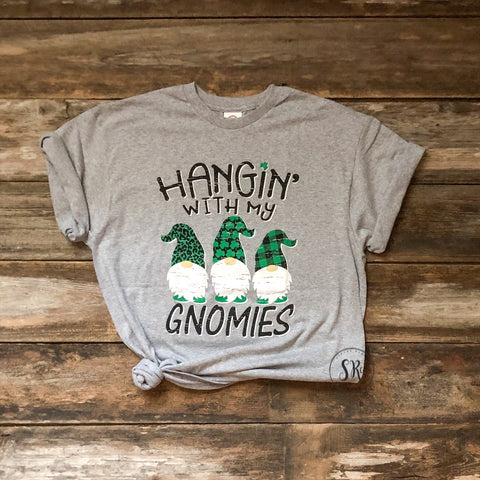 Hangin' With My Gnomies Tee- YOUTH