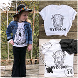 Bye Son Buffalo Tee- Children's
